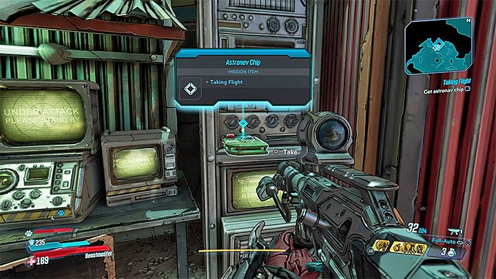 Das zweite Ziel ist es, Astronav Chip - Taking Flight | Walkthrough zu Borderlands 3 - Hauptquests - Borderlands 3-Anleitung