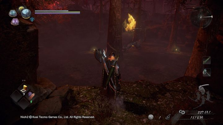 Verwenden Sie die gleiche Taktik wie beim Kampf gegen Kamaitachi in der Boss-Form - NiOh 2: Der Walkthrough zu High Spirited Demon - Hauptmissionen - NiOh 2-Leitfaden