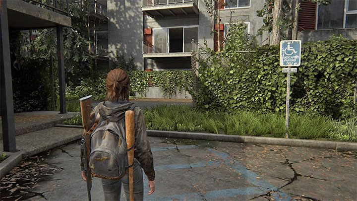 Dies ist ein Artefakt, das sich in der Nähe des oben beschriebenen Motels befindet - The Last of Us 2: Capitol Hill - Sammlerstücke, Artefakte, Münzen - Seattle Tag 1 - Ellie - The Last of Us 2 Guide