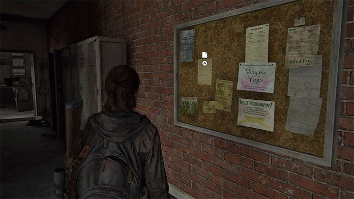 Auf der rechten Seite befindet sich ein Schulgebäude für Kampfkünste - The Last of Us 2: Capitol Hill - Sammlerstücke, Artefakte, Münzen - Seattle Tag 1 - Ellie - The Last of Us 2 Guide