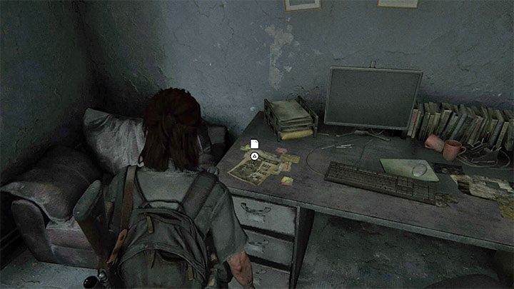Besuchen Sie das dunkle Büro - The Last of Us 2: Hillcrest - Sammlerstücke, Artefakte, Münzen - Seattle Day 2 - Ellie - The Last of Us 2 Guide