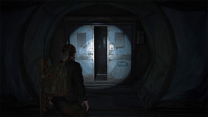 Es ist ein Artefakt und kann während der Erkundung von Korridoren mit geschlossenen Türen gefunden werden - The Last of Us 2: Ground Zero - Sammlerstücke, Artefakte, Münzen - Seattle Day 2 - Abby - The Last of Us 2 Guide