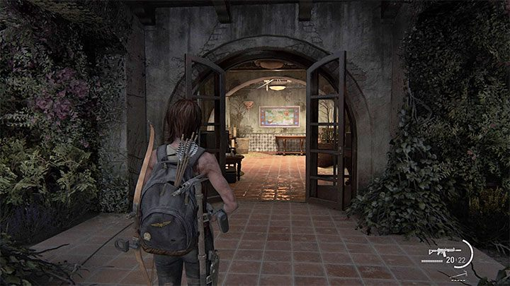 Es ist eine Sammelkarte - ein Sammlerstück - The Last of Us 2: The Resort - Sammlerstücke, Artefakte, Münzen - Santa Barbara - The Last of Us 2 Guide