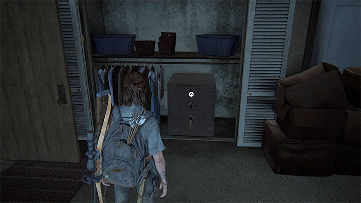Die Safes in der Wohnung - The Last of Us 2: Sichere Kombinationen - Seattle, Tag 2 Ellie - Safes - The Last of Us 2 Guide