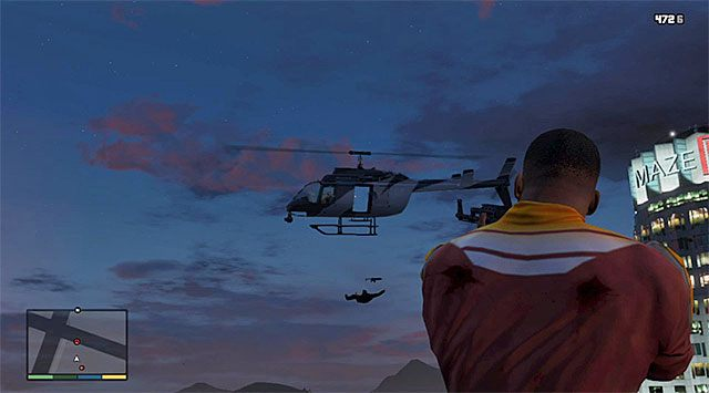 Versuchen Sie, den feindlichen Hubschrauber abzuschießen - GTA 5: The Construction Assassination - Mission Walkthrough - Hauptmissionen - GTA 5 Guide