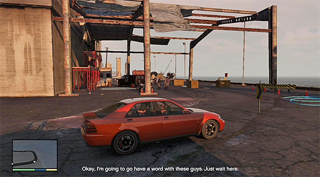 Der Hafen - Downtown Cab Co. - Immobilienmissionen - GTA 5 Guide