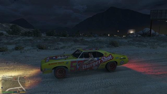 Burger Shot Hengst. - Stock Car Racing - Andere Quests - GTA 5 Guide