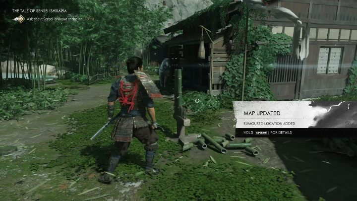 1 - Ghost of Tsushima: Bambusstreiks, Izuhara Region Geheimnisse Karte, Video Guide - Izuhara Region - Ghost of Tsushima Guide, Walkthrough