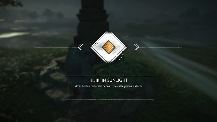 The pillar of honour stands on a small hill in the middle of a meadow - Ghost of Tsushima: Pillars of Honor, Toyotama Region secrets map, video guide - Toyotama Region - Ghost of Tsushima Guide, Walkthrough