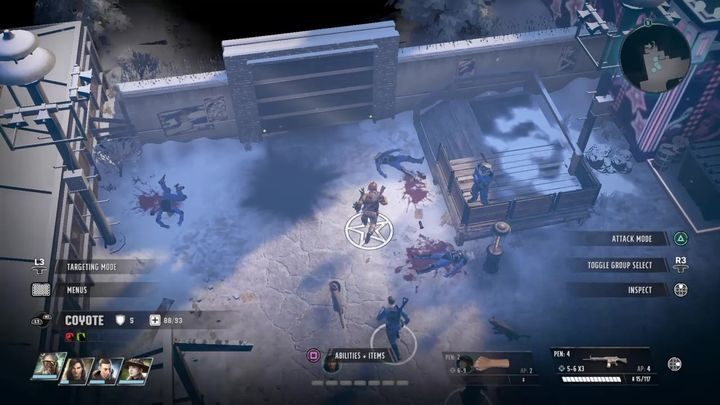 Nachdem Sie den Punkt erreicht haben, folgen Sie dem einzigen verfügbaren Pfad - Wasteland 3: Walkthrough zu Cornered Rats - Hauptquests - Wasteland 3 Guide, Walkthrough