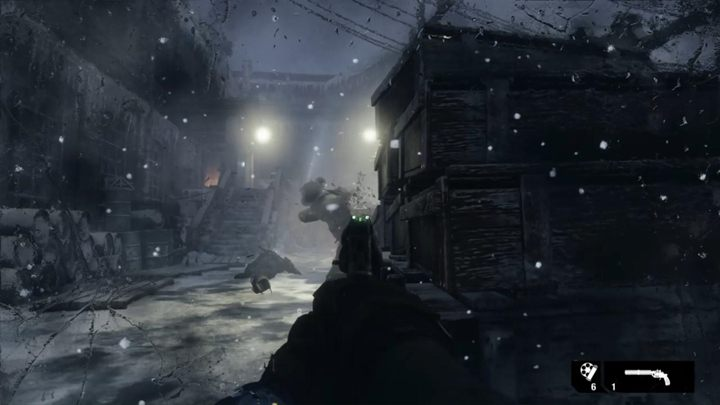 Nach einer Weile befinden Sie sich in einem Raum mit Anna und ihrem Henker - Moskau - In der feindlichen Basis - Metro Exodus Walkthrough - Moskau - Metro Exodus Guide