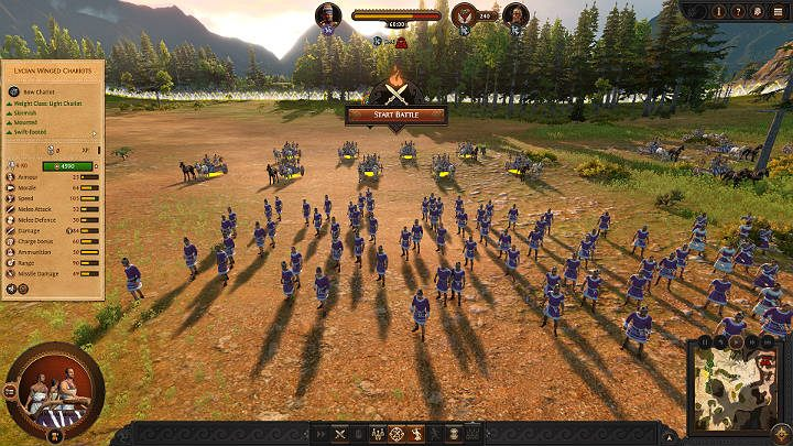 Ranged units have a limited number of projectiles so try not to waste them on wrong targets - Total War Troy: Battles - how to fight? - Basics - Total War Troy Guide
