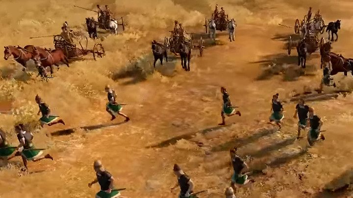 Before the battle begins, look around the area and see where you are fighting - Total War Troy: Battles - how to fight? - Basics - Total War Troy Guide