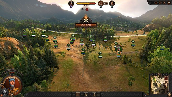 When selecting and deploying units in the front line, pay particular attention to their health level, armor, morale level, and whether they have a shield to effectively protect themselves from incoming projectiles - Total War Troy: Battles - how to fight? - Basics - Total War Troy Guide