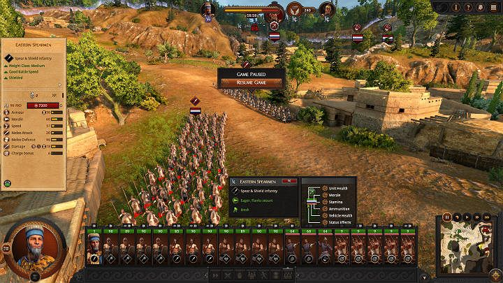 Fortunately, the moment the enemy army moves to attack, you can quickly figure out what type of units the opponent has sent to battle - Total War Troy: Battles - how to fight? - Basics - Total War Troy Guide