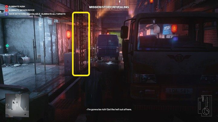 You can find the Lethal Poison Pill Jar in the homeless shelter, which is linked to the Impulse Control story quest - Hitman 3: Imogen Royce - how to kill her? Chongqing, China, walkthrough guide - End Of An Era - Chongqing - Hitman 3 Guide