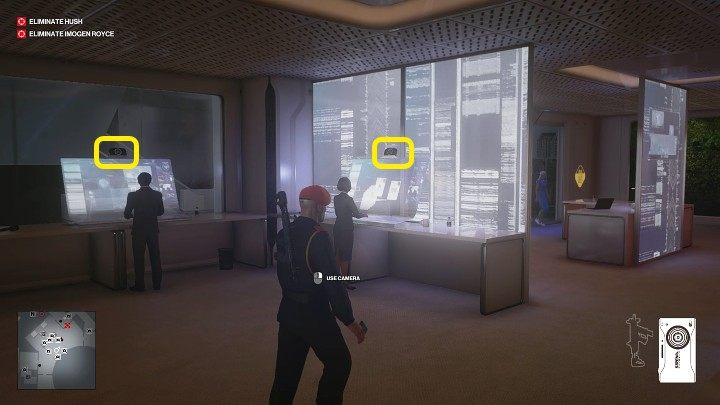 Exit the room and continue left - Hitman 3: Imogen Royce - how to kill her? Chongqing, China, walkthrough guide - End Of An Era - Chongqing - Hitman 3 Guide