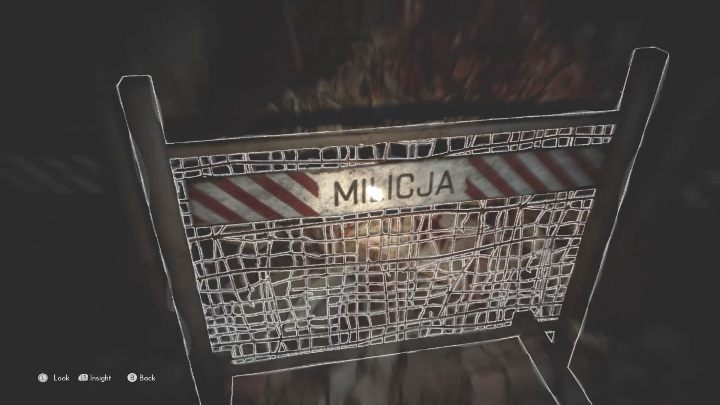 To activate this echo you must examine the sign left by the militia, located on the left - The Medium: Echoes - list - Secrets and Collectibles - The Medium Guide