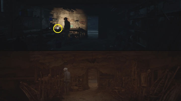 Location: in the workshop, in front of the Red House - The Medium: Echoes - list - Secrets and Collectibles - The Medium Guide