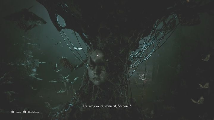 After getting rid of the moths, you can approach the tree - The Medium: On the other side of the mirror - walkthrough - Walkthrough - The Medium Guide
