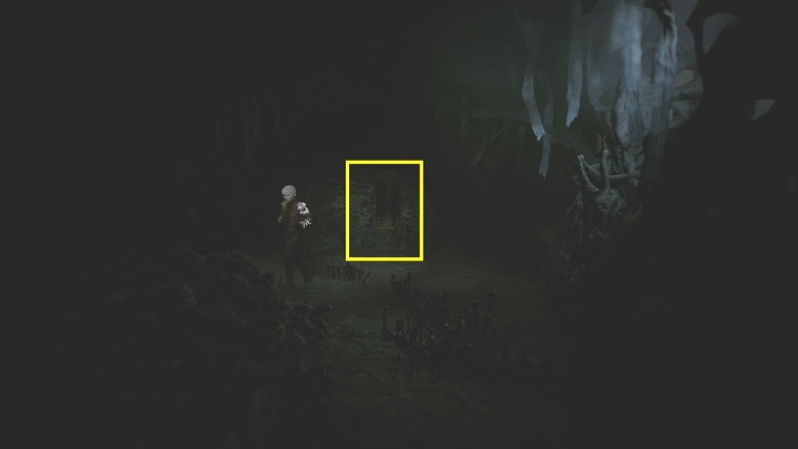 After taking the mask, another passage will open up for you - The Medium: On the other side of the mirror - walkthrough - Walkthrough - The Medium Guide