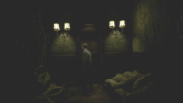 When you finally reach the door, open it and get into the next room - The Medium: Richards House - walkthrough - The Medium Guide