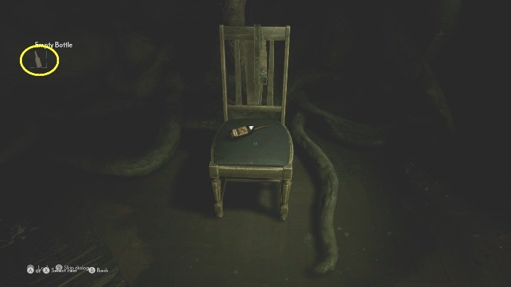 Grab it and go to the chair - The Medium: Richards House - walkthrough - The Medium Guide
