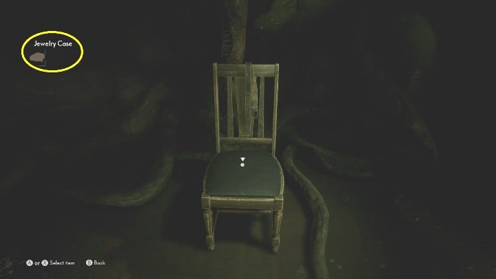 Place the item on the chair and listen to the next part of the story - The Medium: Richards House - walkthrough - The Medium Guide