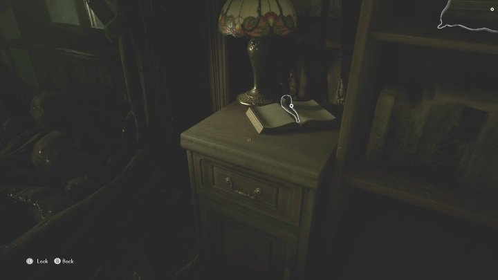 Let's start with the first item, a pipe lying on a wooden cabinet - The Medium: Richards House - walkthrough - The Medium Guide