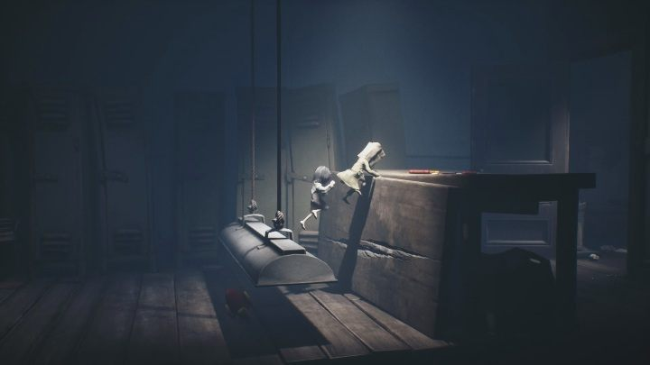 You need that lamp to get further - Little Nightmares 2: School - guide, walkthrough description - Chapter 2 - Orphanage - Little Nightmares 2 Guide