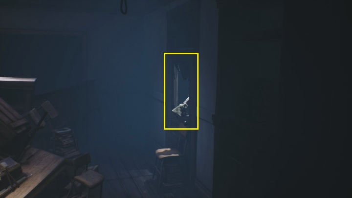 After killing the opponents, jump on the chair located right next to the door - Little Nightmares 2: School - guide, walkthrough description - Chapter 2 - Orphanage - Little Nightmares 2 Guide