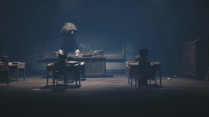 Sneak during the moments when the teacher is busy - Little Nightmares 2: School - guide, walkthrough description - Chapter 2 - Orphanage - Little Nightmares 2 Guide