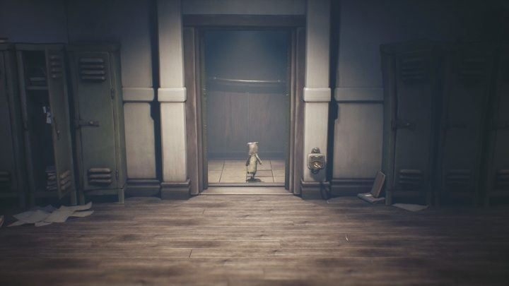 Enter the elevator and wait until it closes to go to the upper floor - Little Nightmares 2: School - guide, walkthrough description - Chapter 2 - Orphanage - Little Nightmares 2 Guide