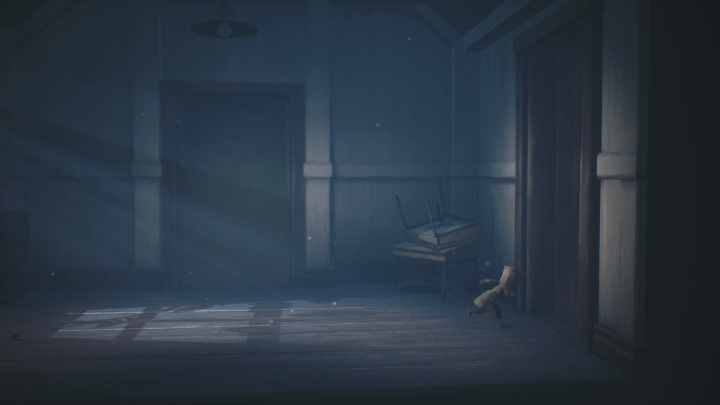 After exiting the elevator, head immediately to the right - Little Nightmares 2: School - guide, walkthrough description - Chapter 2 - Orphanage - Little Nightmares 2 Guide