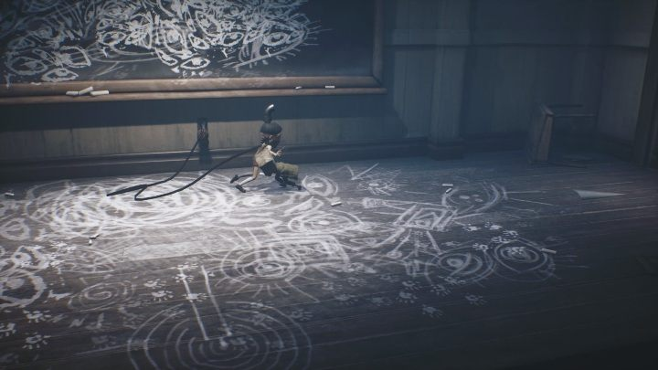 Using a gun, you can kill the boy to ease his suffering - Little Nightmares 2: School - guide, walkthrough description - Chapter 2 - Orphanage - Little Nightmares 2 Guide