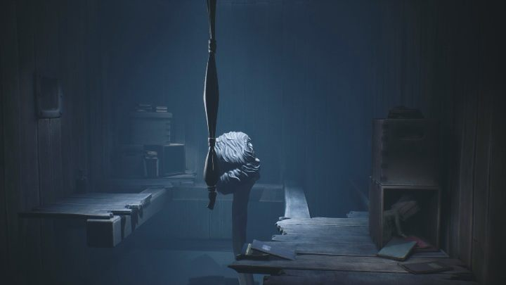 After running out of one box, you must go to the other box - the teacher won't find you there either - Little Nightmares 2: School - guide, walkthrough description - Chapter 2 - Orphanage - Little Nightmares 2 Guide
