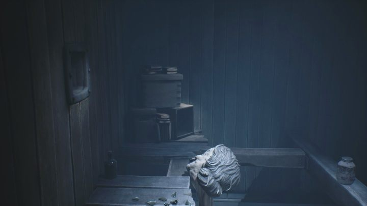 As soon as you fall out of the ventilation shaft, run up to the box lying in the left corner - Little Nightmares 2: School - guide, walkthrough description - Chapter 2 - Orphanage - Little Nightmares 2 Guide