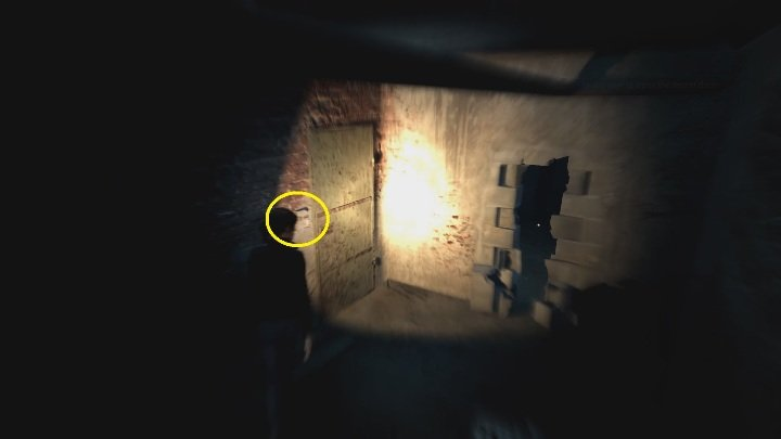 Gehen Sie in das Loch in der Wand - The Medium: Basement - Walkthrough - Walkthrough - The Medium Guide