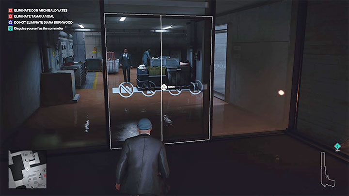Agent 47 needs to get inside the Wine Fridge - Hitman 3: How to unlock the Ripe for the Picking trophy/achievement? - Trophy Guide - Hitman 3 Guide