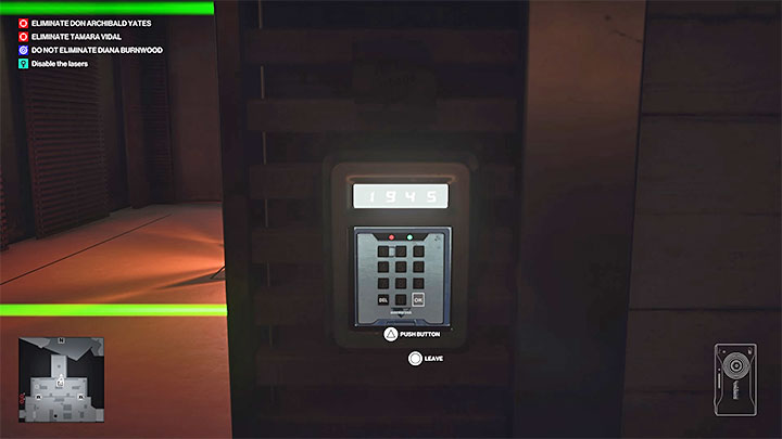 The Grand Paladin wine is located in a sort of a vault, the access to which is blocked by lasers - Hitman 3: How to unlock the Ripe for the Picking trophy/achievement? - Trophy Guide - Hitman 3 Guide