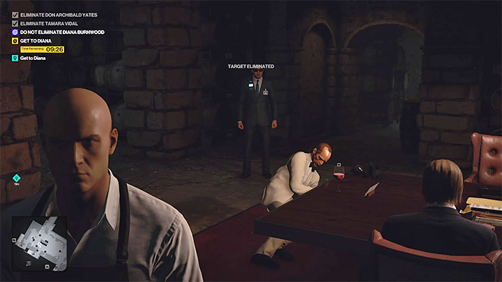 During the rest of the meeting, you don't need to perform any additional actions (unfortunately, it's also too late to poison Yates) - Hitman 3: How to unlock the Ripe for the Picking trophy/achievement? - Trophy Guide - Hitman 3 Guide