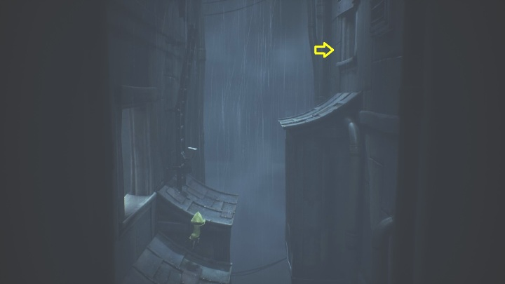 At some point, you will reach the roof - Little Nightmares 2: Crossing the city - a guide, walkthrough - Chapter 4 - Getting to the Tower - Little Nightmares 2 Guide