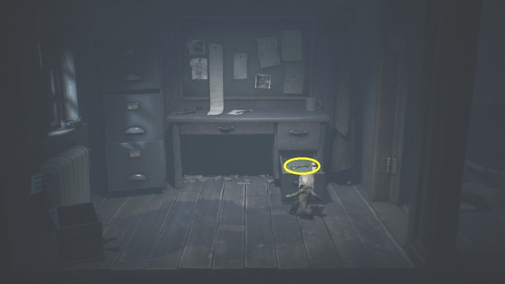 Your job is to open the drawer - Little Nightmares 2: Crossing the city - a guide, walkthrough - Chapter 4 - Getting to the Tower - Little Nightmares 2 Guide