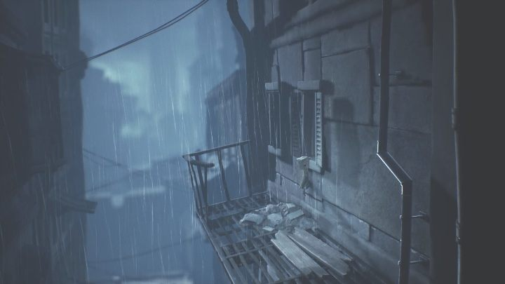 Your next task is to get to the window located to the right - Little Nightmares 2: Crossing the city - a guide, walkthrough - Chapter 4 - Getting to the Tower - Little Nightmares 2 Guide